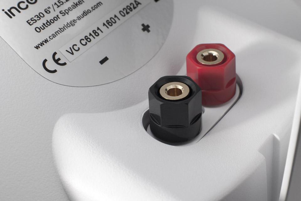Cambridge Audio ES30 Outdoor speaker - Terminals
