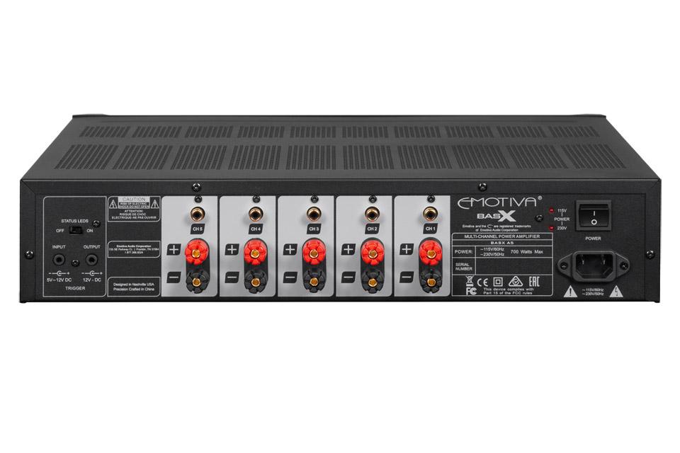 Emotiva BasX A5 power amplifier