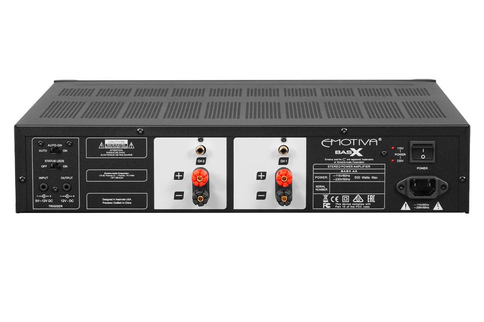 Emotiva BasX A2 power amplifier