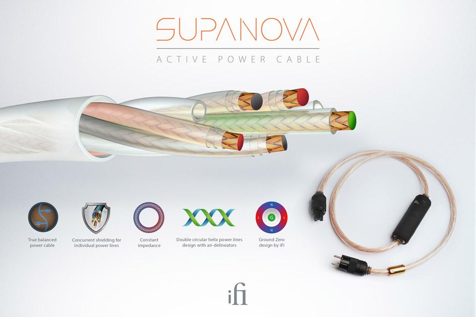 ifi Audio SuperNova power cable