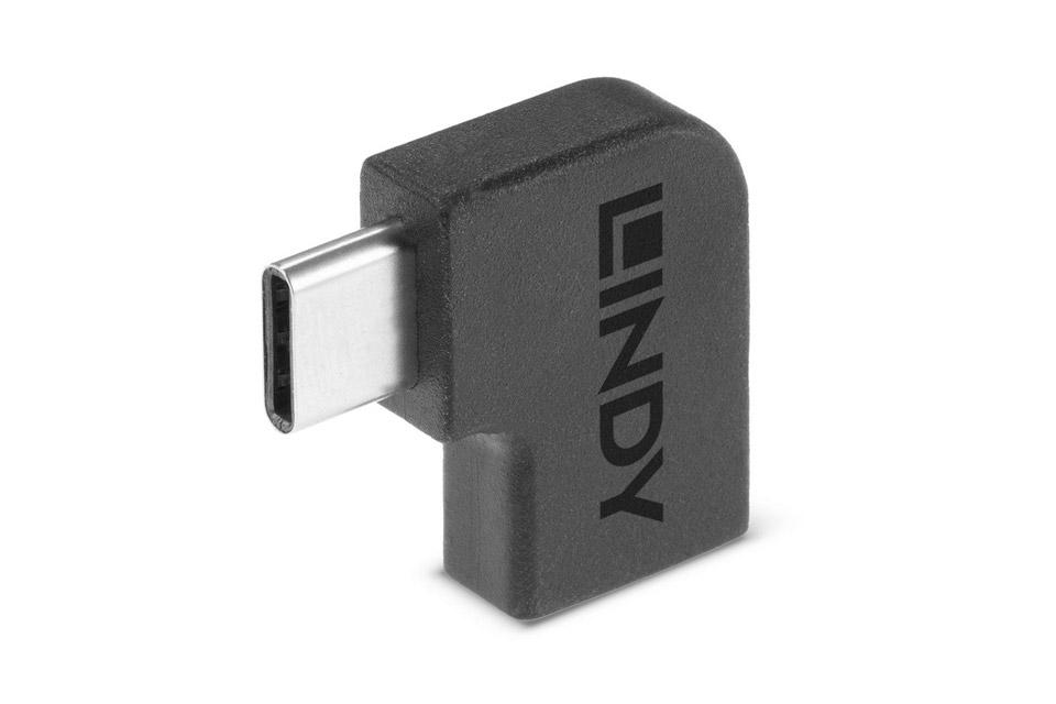 Lindy USB-C angle adapter 90°