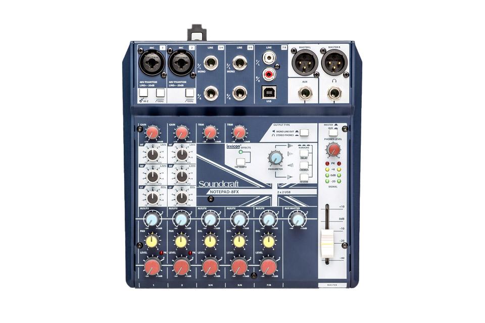 Soundcraft Notepad 8FX