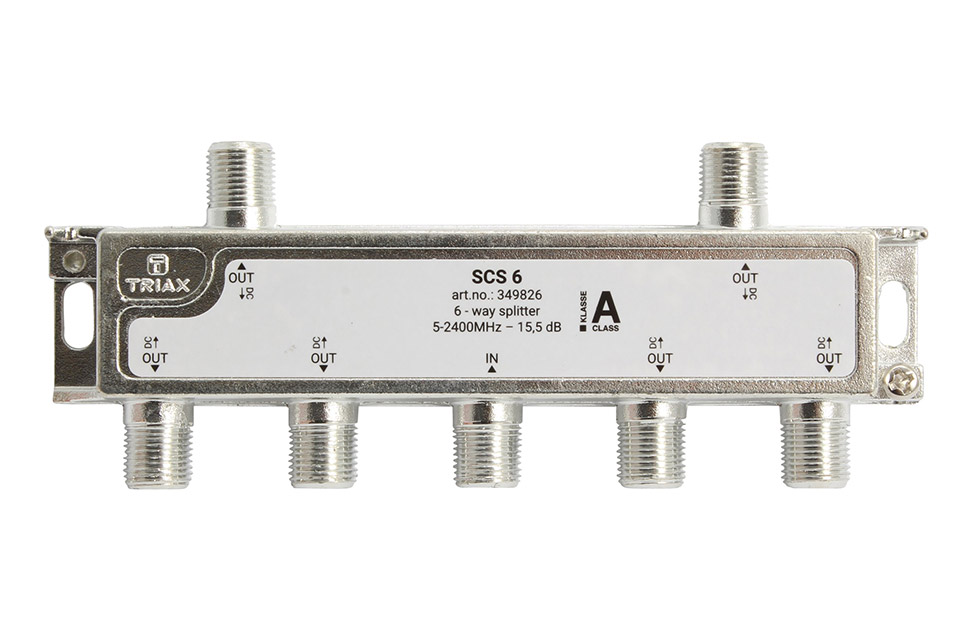 Triax SCS 6 6-vejs splitter