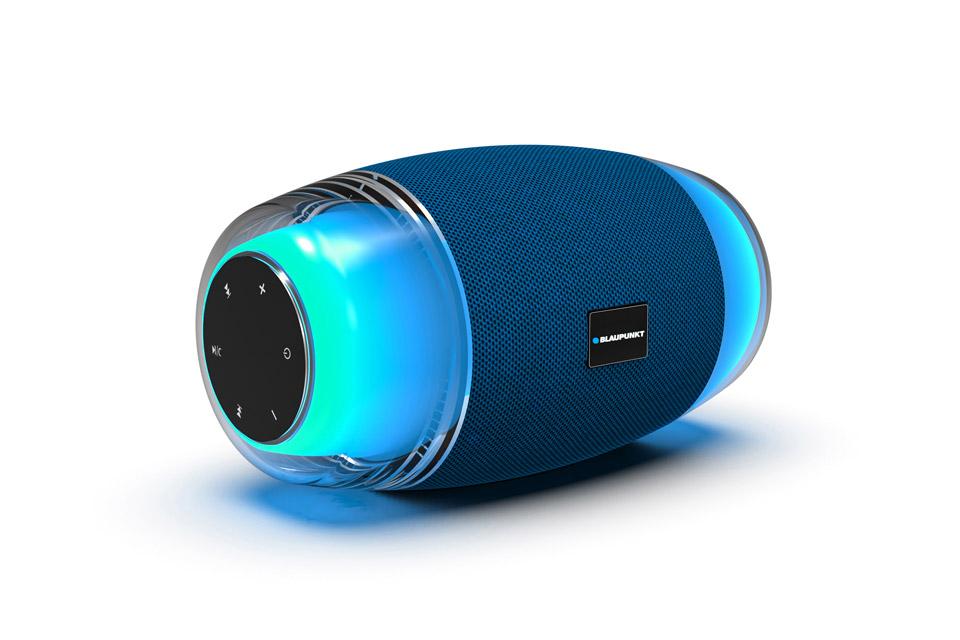 Blaupunkt BLP 3915 portable Bluetooth speaker with LED