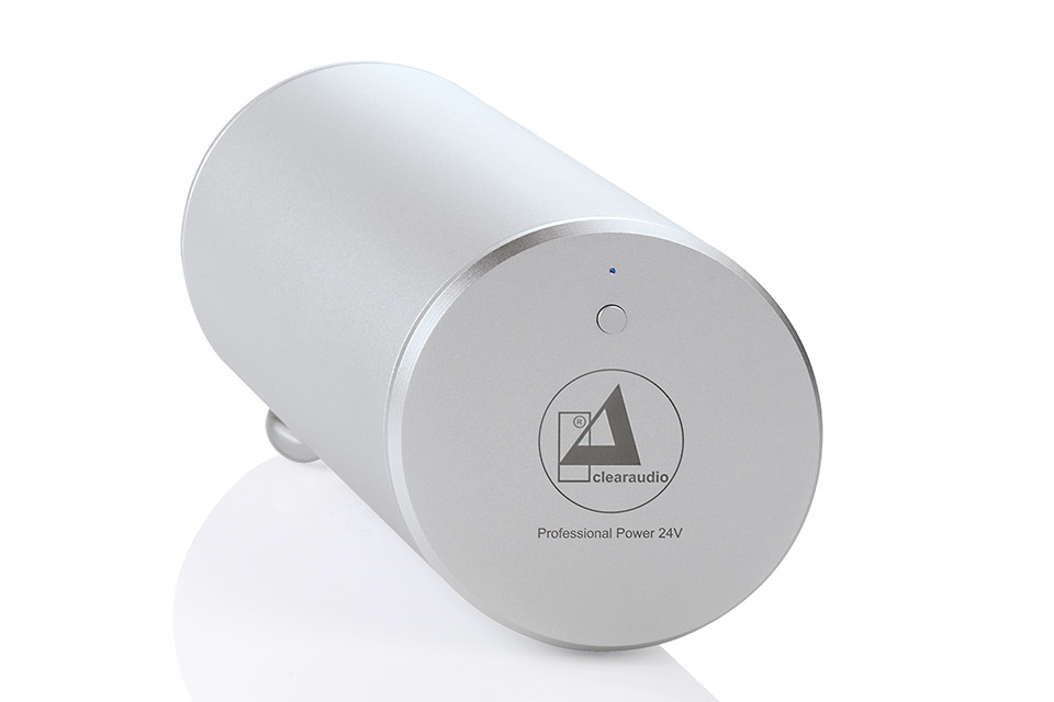 ClearAudio professional poower, 24V, silver