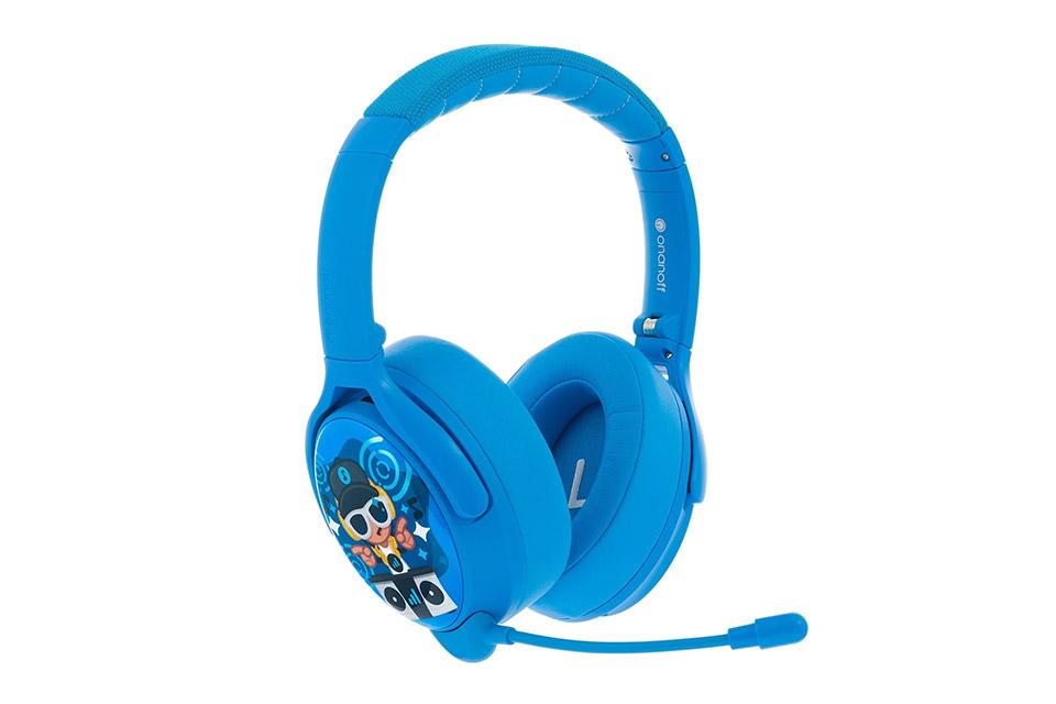 Buddy Phones Cosmos+ headphones, blue