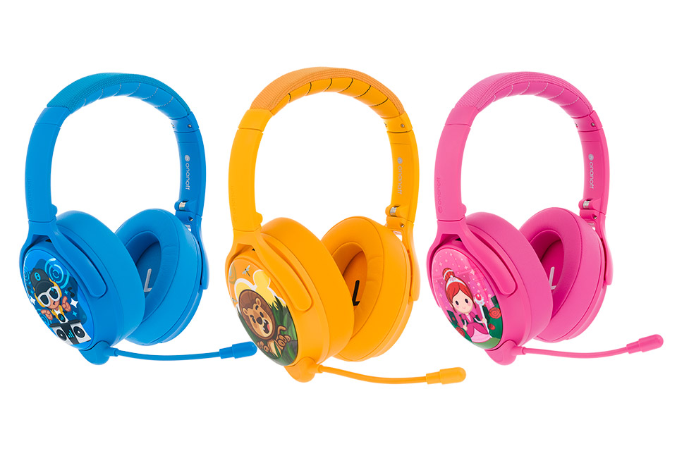 Buddy Phones Cosmos+ headphones, all