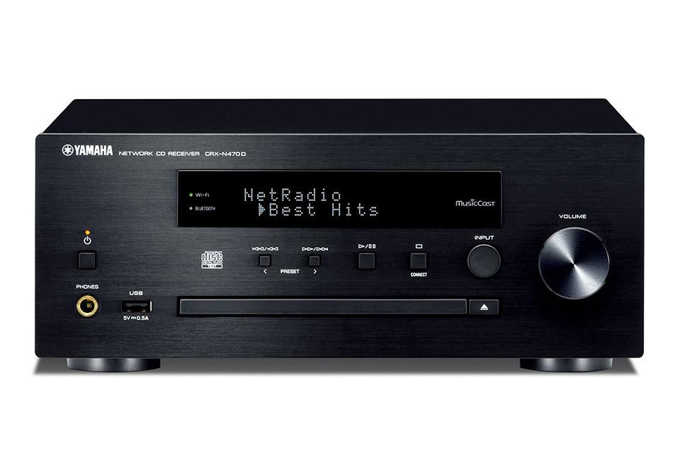 Yamaha CRX-N470D CD-receiver, black