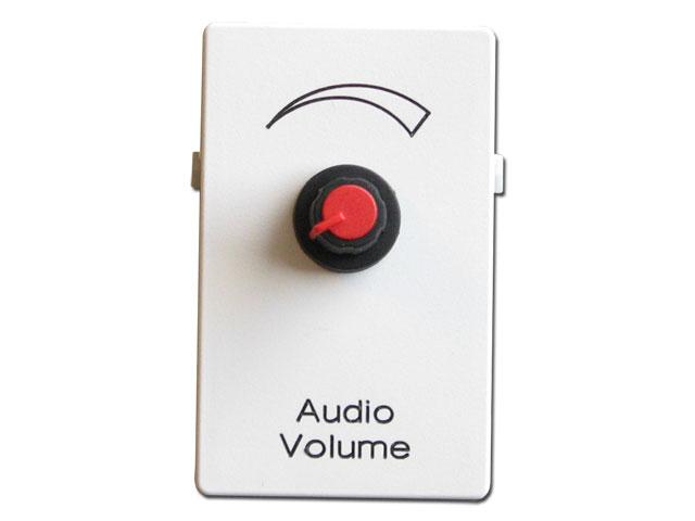 AV vægdåse til FUGA, Audio Volume
