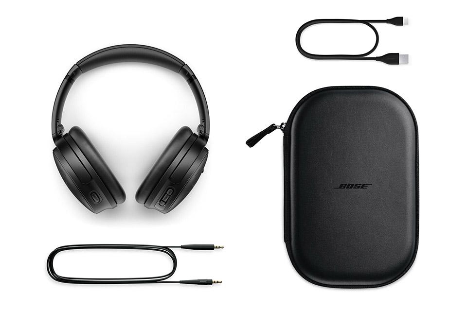 Bose Quiet Comfort 45 headphones, black