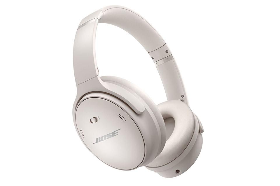 Bose Quiet Comfort 45 headphones, white