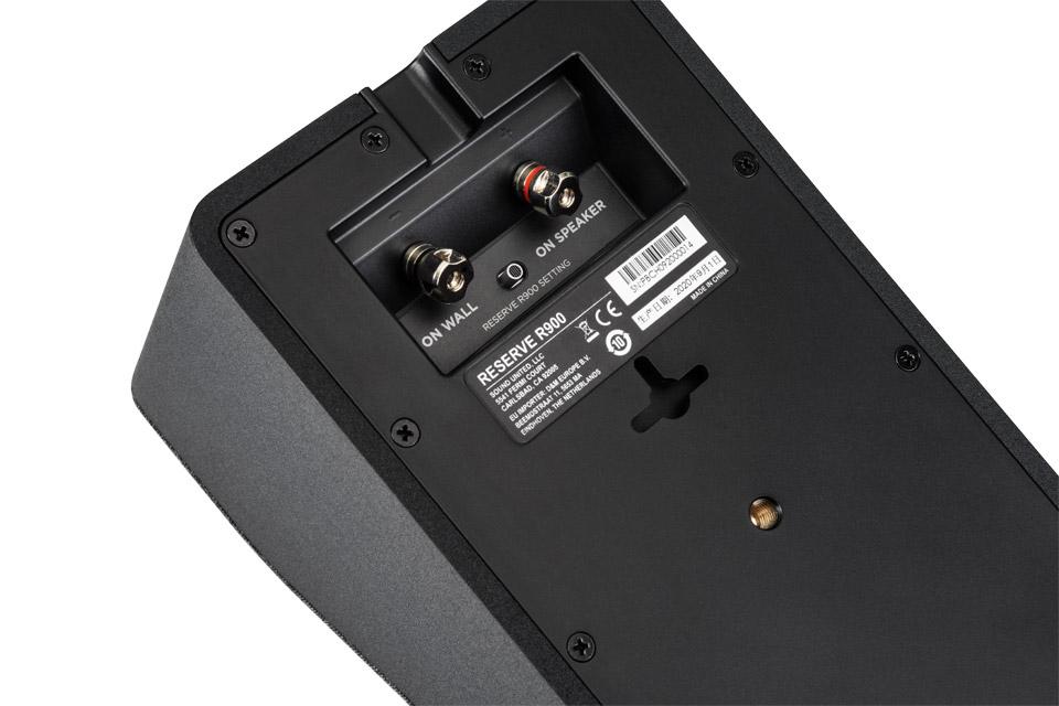 Polk Audio Reserve R900 height speaker - Black back