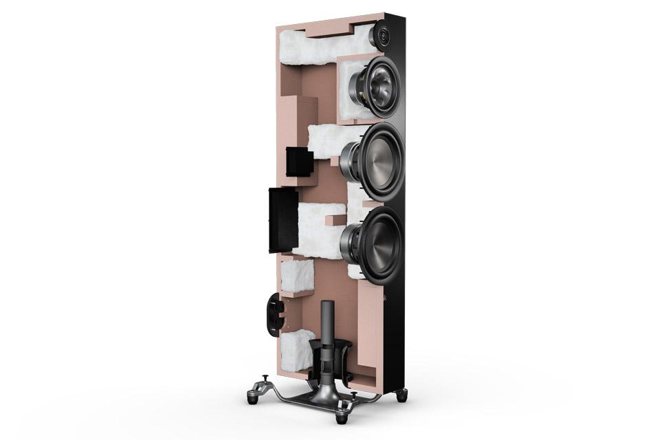 Polk Audio Reserve R700 floor speaker - Open