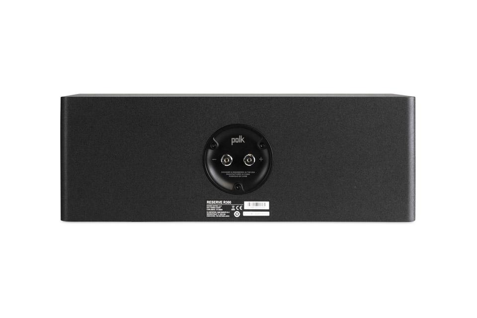 Polk Audio Reserve R300 center speaker - Black back