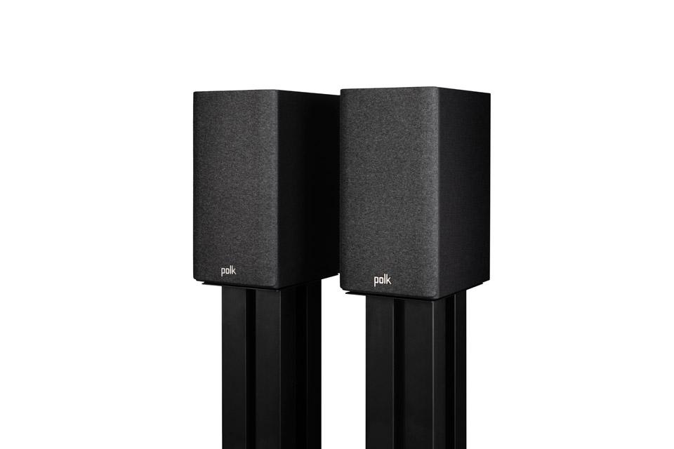 Polk Audio Reserve R100 bookshelf speaker - Black with fronts