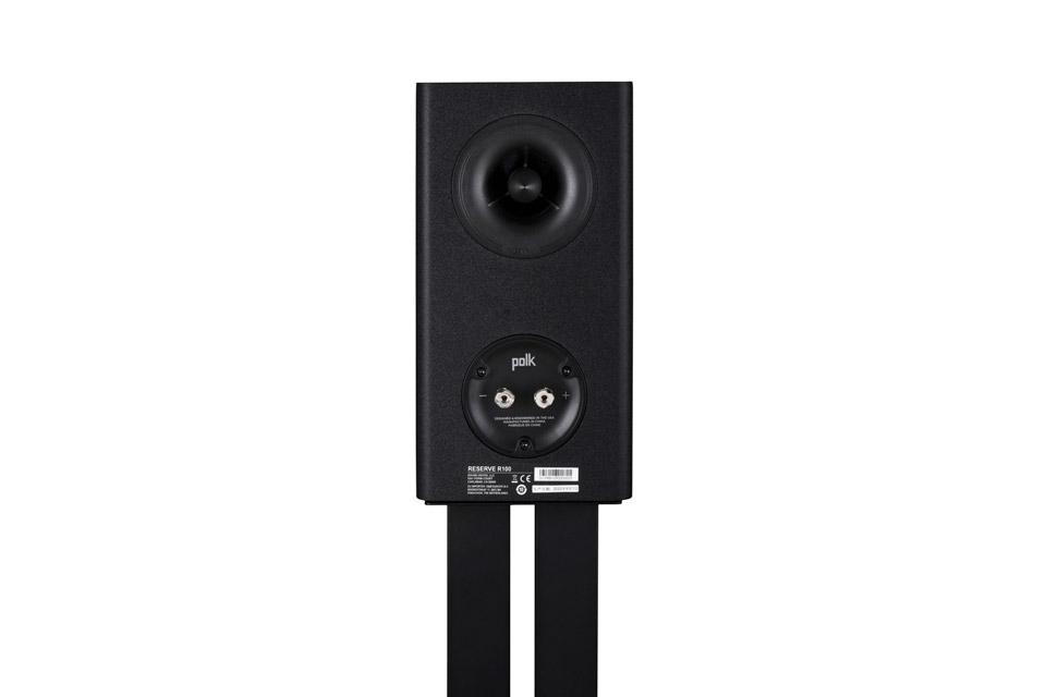 Polk Audio Reserve R100 bookshelf speaker - Black back