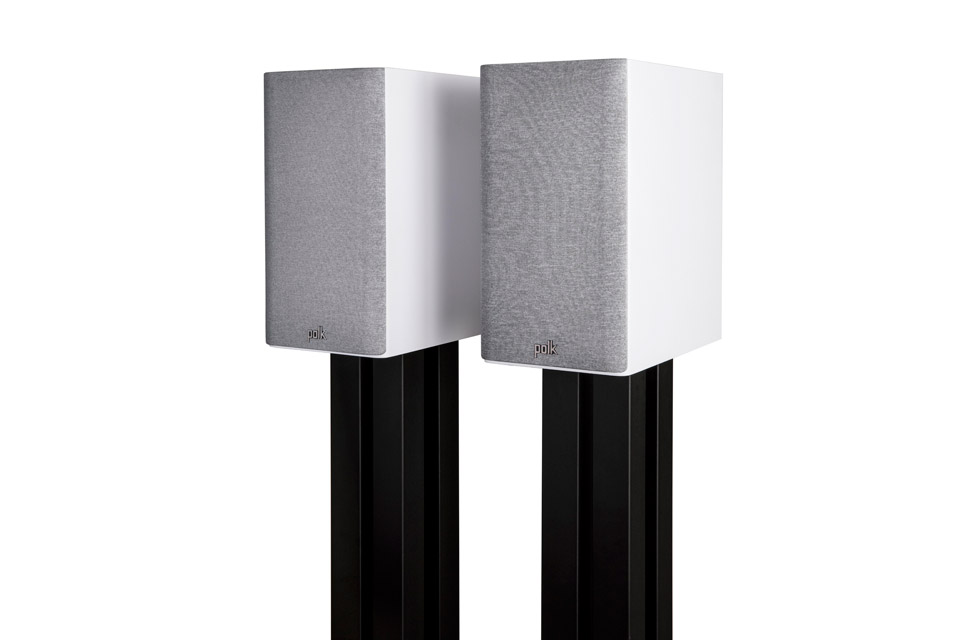 Polk Audio Reserve R200 bookshelf speaker -  White with fronts
