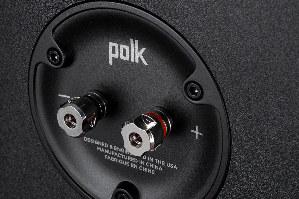 Polk Audio Reserve R200 bookshelf speaker -  Terminals