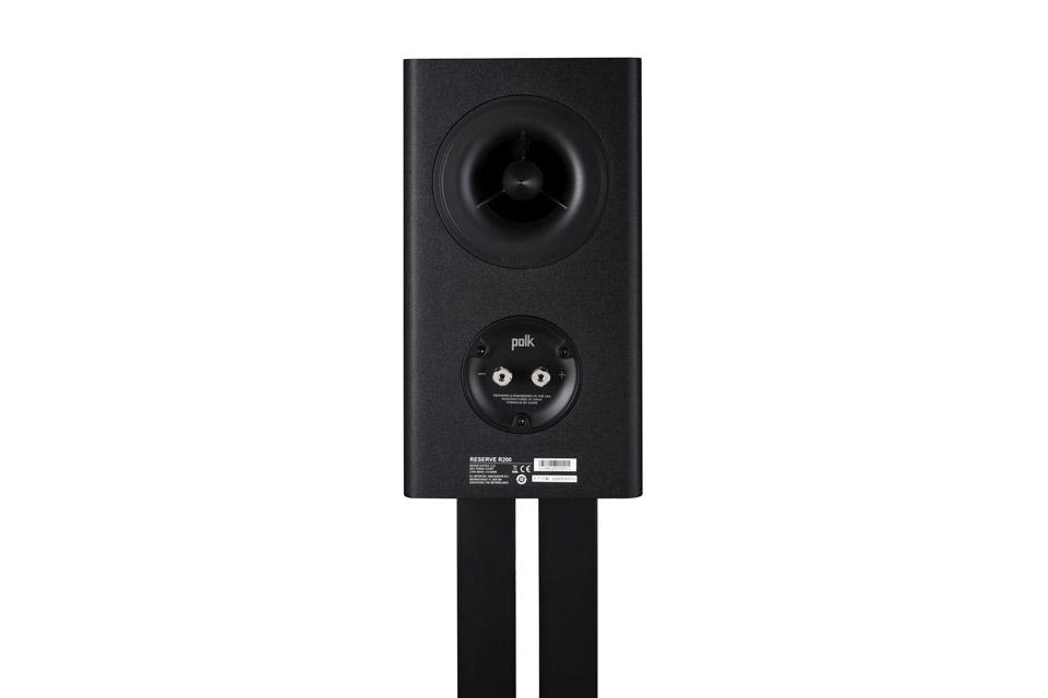 Polk Audio Reserve R200 bookshelf speaker -  Black back