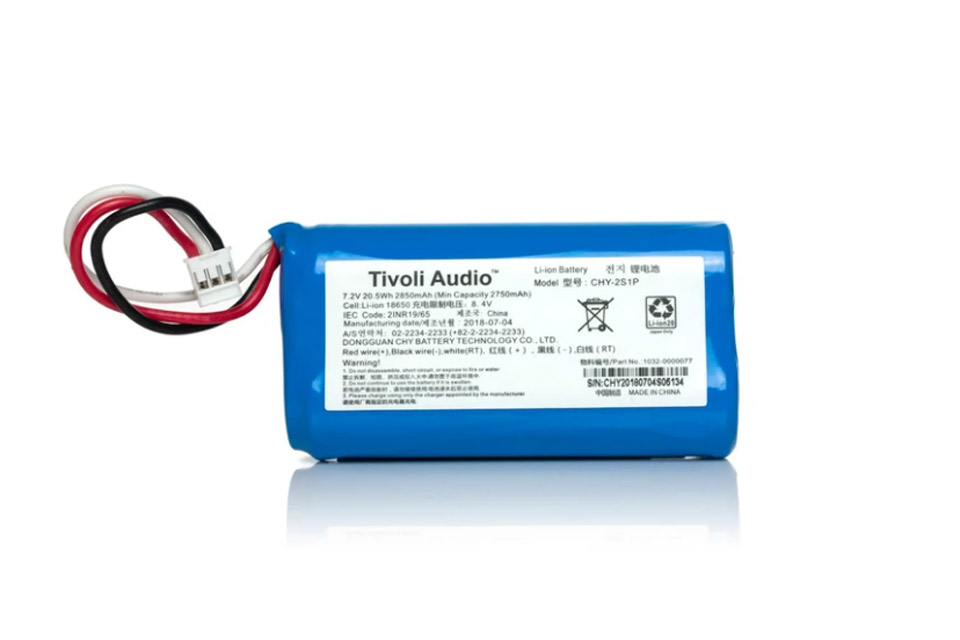 Tivoli Audio Batteri PAL-PAL+BT (Gen 2)