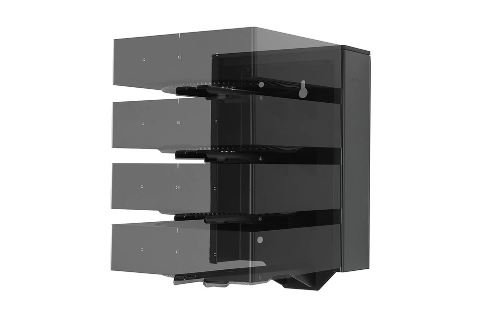 Flexson wall mount for 4x Sonos AMP, Lifestyle 1