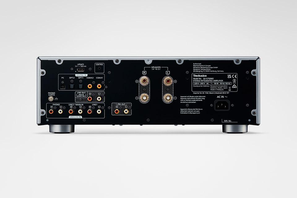Technics SU-G700M2 integrated amplifier, silver