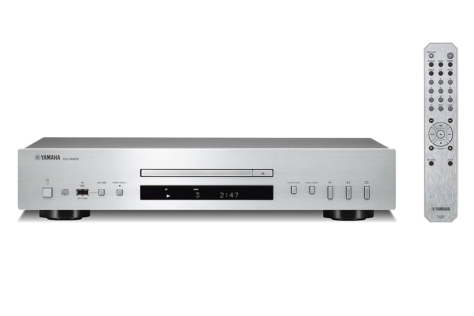 Yamaha CD-S303 CD-player, silver