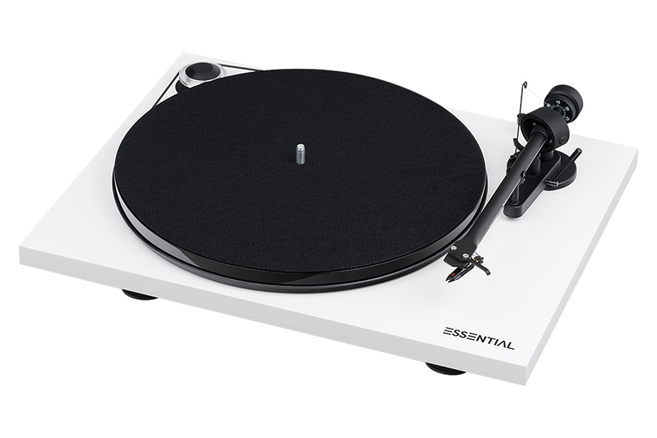 Pro-Ject Essential III Phono, white