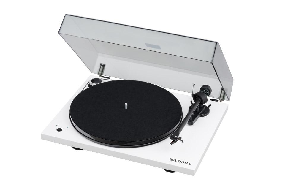 Pro-Ject Essential III Recordmaster, piano white