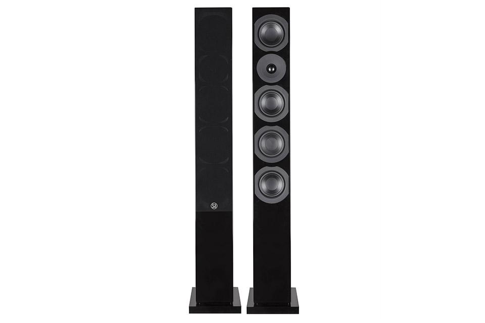 System Audio Saxo 50, sort satin