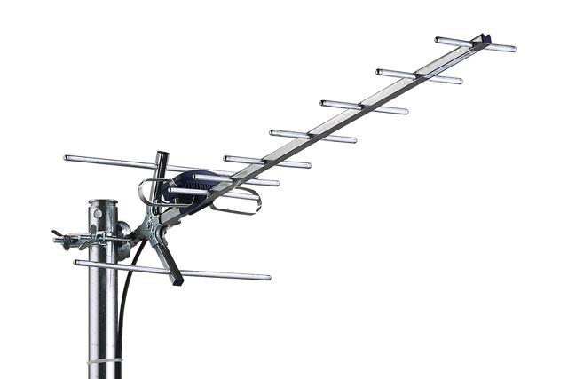 Standard kvalitets element antenne fra Danske Triax til områder med generelt god dækning.