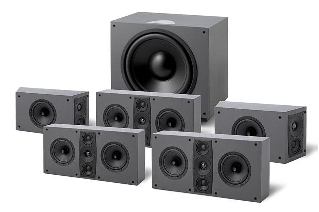 Surround pakker med Jamo´s D600 THX Ultra 2 godkendte højttalerserie. Med dette surround system opnår du en biograf lyd med meget overbevisende lyd.
