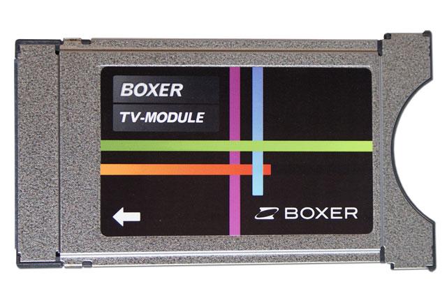 Viaccess CA modul (CAM) til betalings TV via antenne for til Boxer TV programkort i SD kvalitet til ældre TV. Virker IKKE til Boxer HD kanaler.