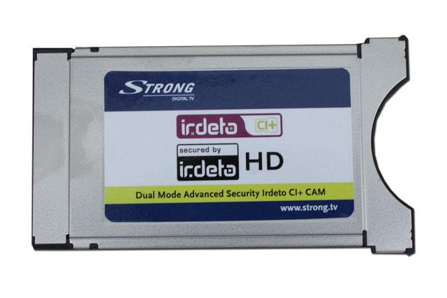 Irdeto CAM f.eks. til betalinskanaler på Stofa kabel TV.