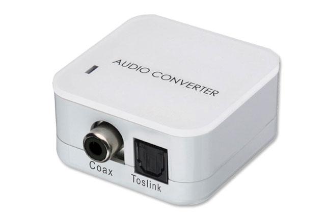 Universal digital konverter fra enten digital koax til optisk eller omvendt.