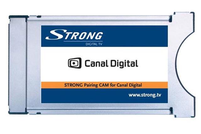 Conax CAM f.eks. til betalingskanaler på Canal Digital via satellit.