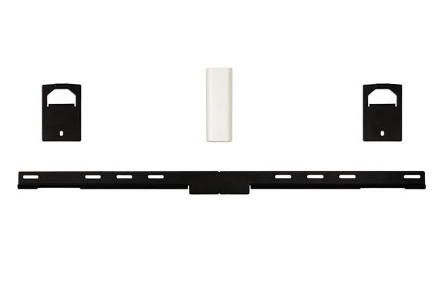 Monter din Bose 1SR, Lifestyle 135 eller Cinemate/SoundTouch 130 system på væggen med dette vægbeslag.