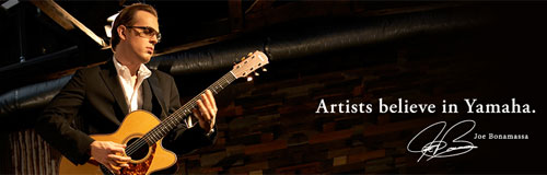 Yamaha - Artist, Joe Banamassa