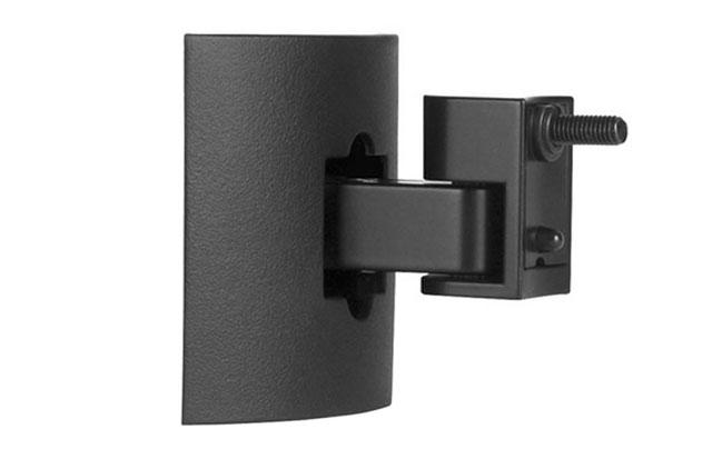 Beslag i støbt zink i høj kvalitet, der er designet til diskret væg- eller loftsmontering af bl.a. Bose® kubehøjttalere.