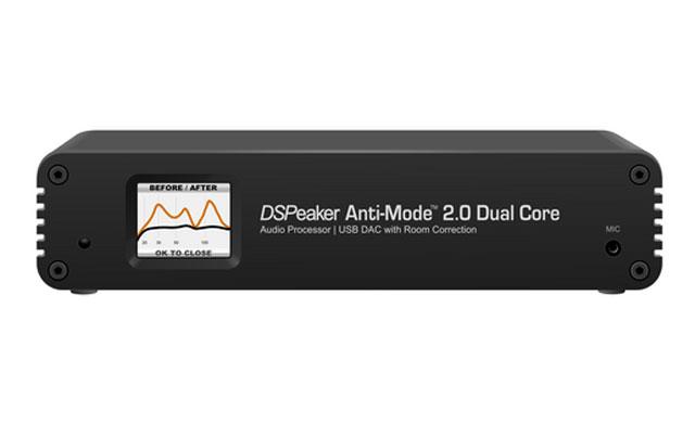 Yderst advanceret rum-korrektions processor fra anmelderroste DSPeaker til både subwoofer og stereo setups.
