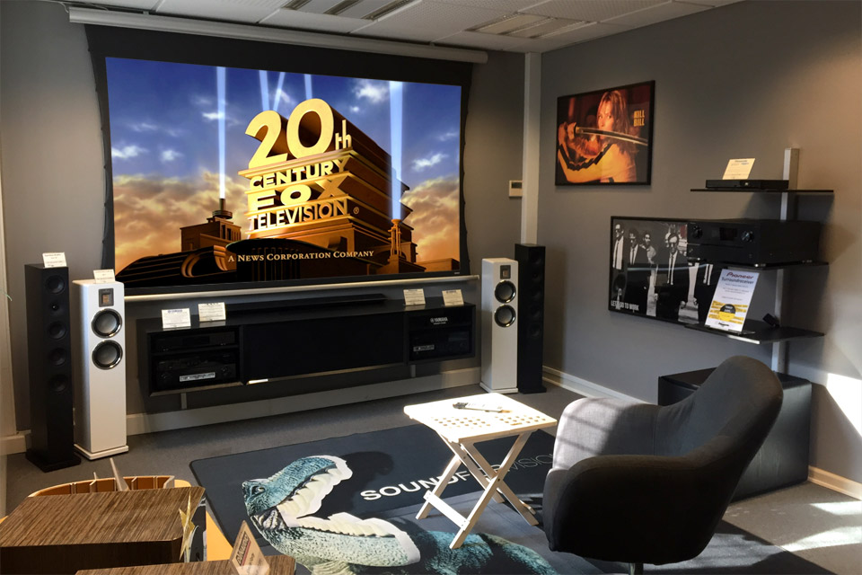 , AV-Connection Odense 1. floor: Home cinema