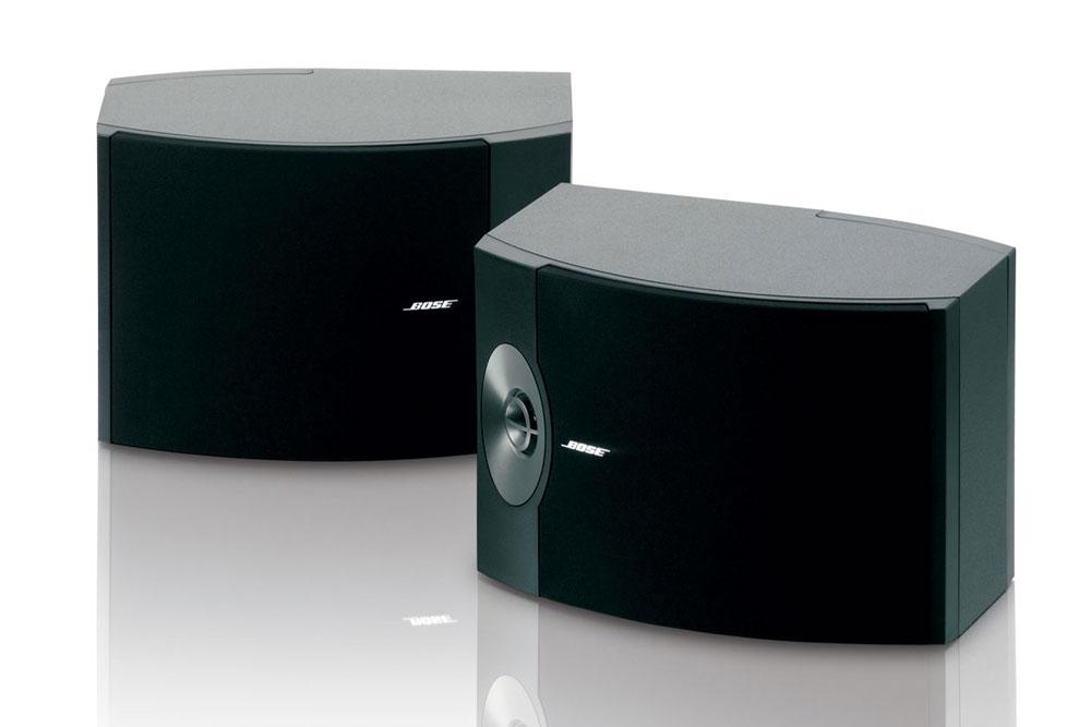 Bose 301 er kraftige højttalere fra Bose der gør det godt både i et stereo setup eller i en hjemmebiograf.