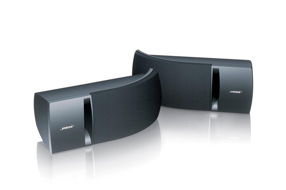 Bose 161 er små fleksible højttalere fra Bose der imponere med stor lyd.