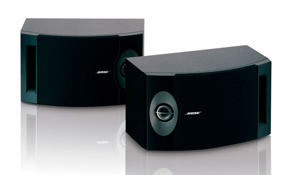 Bose 201 er kompakte højttalere fra Bose der gør det godt både i et stereo setup eller i en hjemmebiograf.