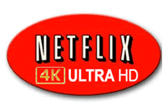 TV og video streaming - Netflix 4K UHD
