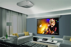 Home cinema custom installation