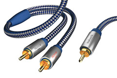Subwoofer split cable (Y-split)