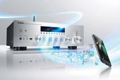 Stereo receivere med streaming