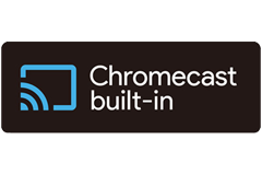 Multi room streaming - Chromecast built-in