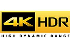 4K UHD 18 Gbps HDR (HDMI 2.0a/b)